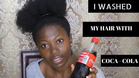 hair coke rinse i washed my hair with coca cola guess what happened