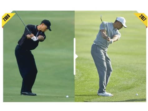swing tiger how tiger s swing has changed how tiger woods today compares
