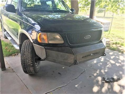 1999 ford f150 front bumper weld it yourself 1999 2003 ford f150 bumpers move