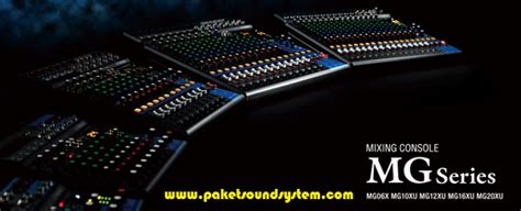 Mixer Yamaha Terbaru yamaha paket sound system profesional indonesia