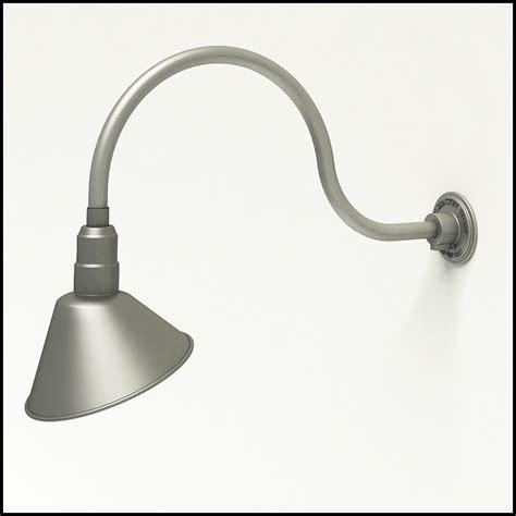 Gooseneck L by Aluminum Gooseneck Rlm Light 24 3 4 Quot L X 3 4 Quot Dia Arm