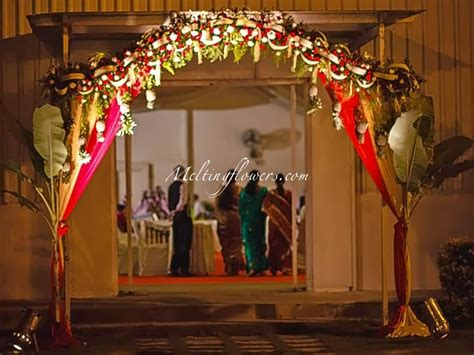 Indian Wedding Entrance Decorations by Ideas For Decorating The Entrance Beautifully Wedding