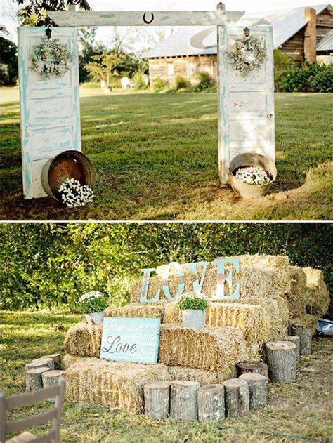 Home Lawn Decoration by 10 Rustic Old Door Wedding Decor Ideas If You Love Outdoor