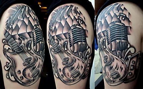 music half sleeve tattoo designs tattoos and designs page 71