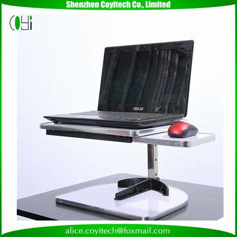 Laptop Platform For Desk Standing Desk Lifting Laptop Stand Desk Table Height Adjustable Sit To Stand Buy Laptop Table