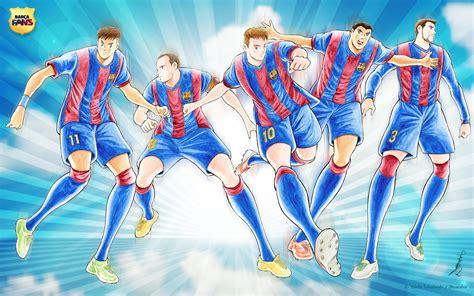 kit jugadores de ftbol bara vs madrid 10p fc barcelona wallpaper by captain tsubasa artist yoichi