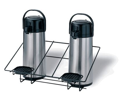 Airpot Rack by Wire Rack Airpot Stands 2 3 Airpots