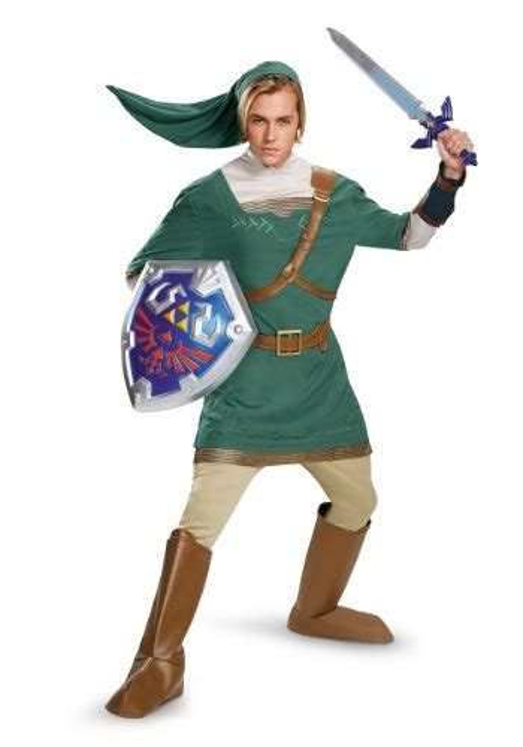 child link prestige costume adult link prestige costume
