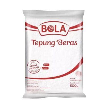 Brand Tepung Beras Putih 500 Gr jual tepung beras bola 500g x 3pcs harga kualitas terjamin blibli
