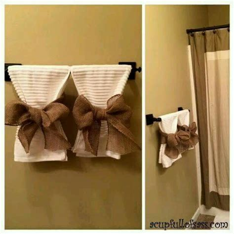bathroom towels decoration ideas 25 best ideas about bathroom towel display on pinterest