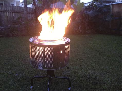 Washing Machine Firepit How To Make A Great Looking Pit Out Of An Washing Machine Drum For 6 The