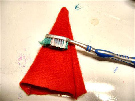 How To Make Santa Hats Out Of Paper - no sew mini santa hat 183 how to make a novelty hat