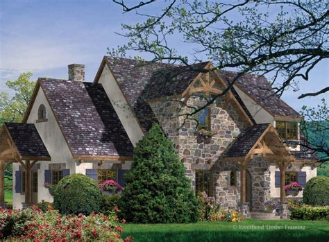 Greenbrier Home Plan By Riverbend Timber Framing Country Timber Frame House Plans
