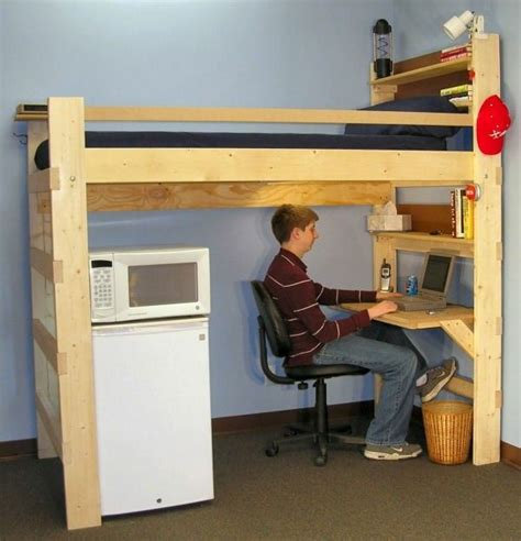 Loft Bed With Desk Underneath by Bunk Bed With Desk With New Great Suggestions Decor10
