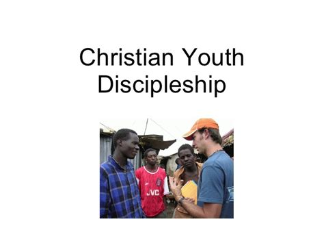 christian youth discipleship