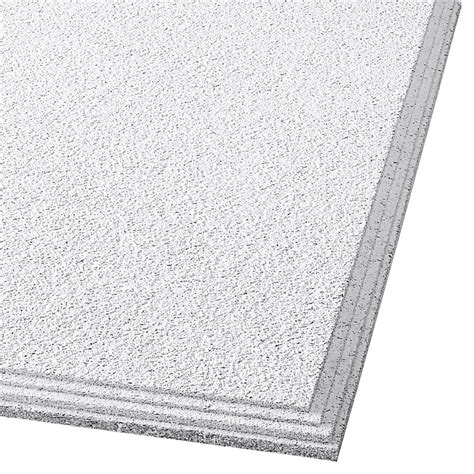 Ceiling Tile Lowes by Shop Armstrong 24 Quot X 24 Quot Cirrus Ceiling Tile Panel At