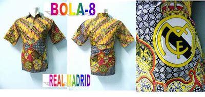 Madrid Batik batik bola madrid grosir batik pekalongan modern