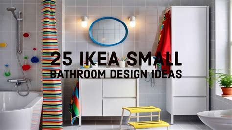 25 ikea small bathroom design ideas