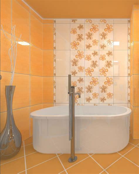Steinwand Für Badezimmer by Badezimmer Badezimmer Fliesen Orange Badezimmer Fliesen
