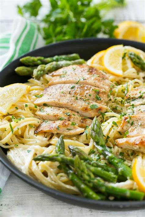 asparagus pasta salad with creamy lemon dressing tidymom healthy chicken pasta recipes my nourished home