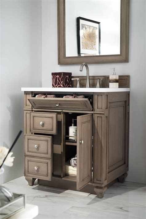 Sink Bathroom Vanities White by 30 Inch Antique Single Sink Bathroom Vanity Whitewashed