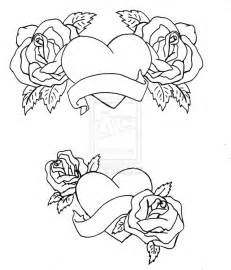 stars hearts roses coloring pages coloring pages
