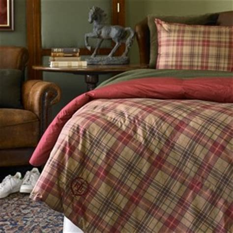 ralph lauren plaid bedding ralph lauren kensington plaid comforter polyvore