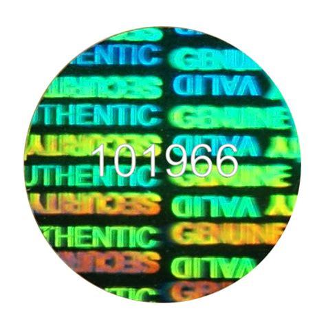 Hologramm Aufkleber Bestellen by Holobrand Hologramme Holobrand Standard Hologramme