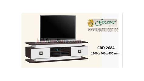 Rak Tv Partikel crd 2684 graver anata bufet rak tv diskon promo