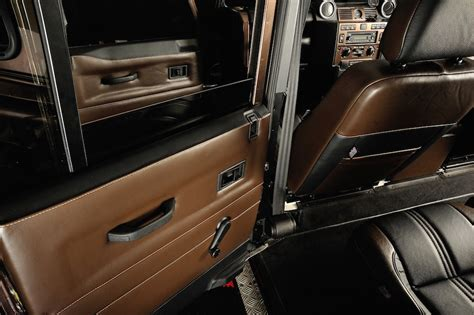 range rover defender interior land rover defender interior upgrade ruskin design