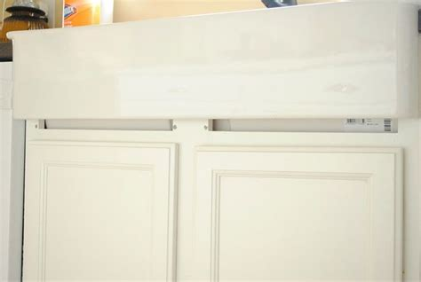 installing an ikea farmhouse sink in an existing cabinet
