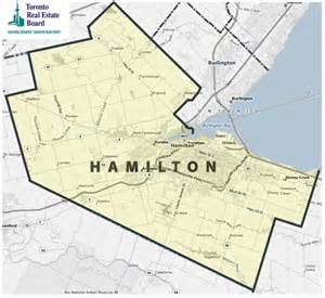 map of hamilton canada treb map