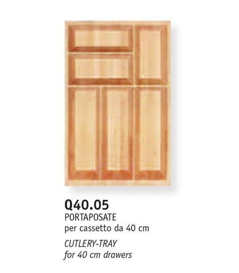 portaposate da cassetto in legno portaposate legno massello scolpito con accessori per cucina