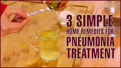 3 simple home remedies for pneumonia treatment doovi