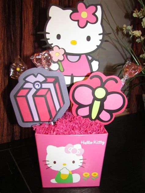 310 Best Images About Hello Kitty Party On Pinterest Hello Centerpieces For Birthday
