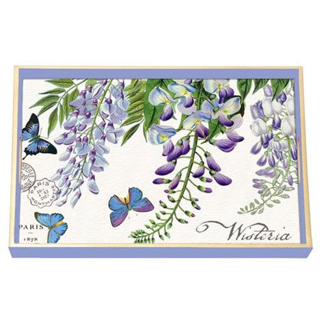 Michel Design Works Decoupage Tray - michel design works wisteria and butterfly wooden