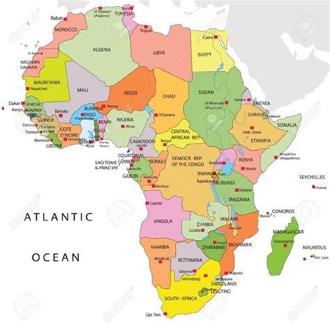 lafrica mappa mappa politica africa popolazione africa mappe 1
