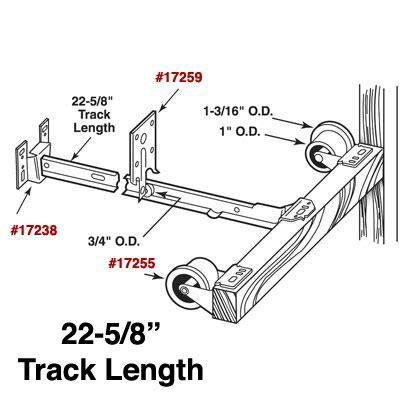 Monorail Drawer Slide by R7137 Monorail Drawer Slide Kit R 7137 Door Window