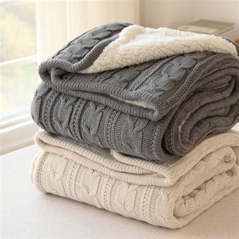 factory direct blanket autumn winter faux fur grey car