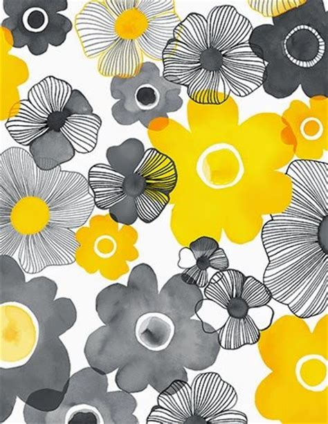 design house skyline yellow motif wallpaper print patterns patterns and yellow on pinterest