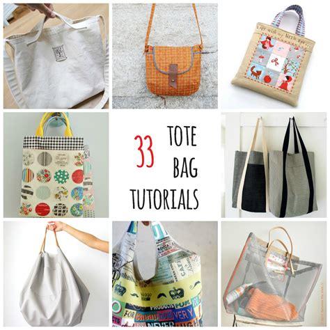 Handmade Bag Tutorial - s o t a k handmade thirty three tote bag tutorials