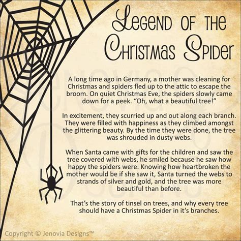 the story of the legend of the christmas spider legend stories legend stories printable planner