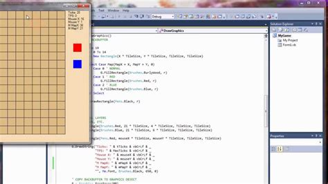 basic programming tutorial visual basic visual basic game programming tutorial part 2 handling