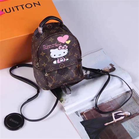 hello kitty louis vuitton edition picture 76715892 louis vuitton m43431 montsouris backpack damier azur canvas