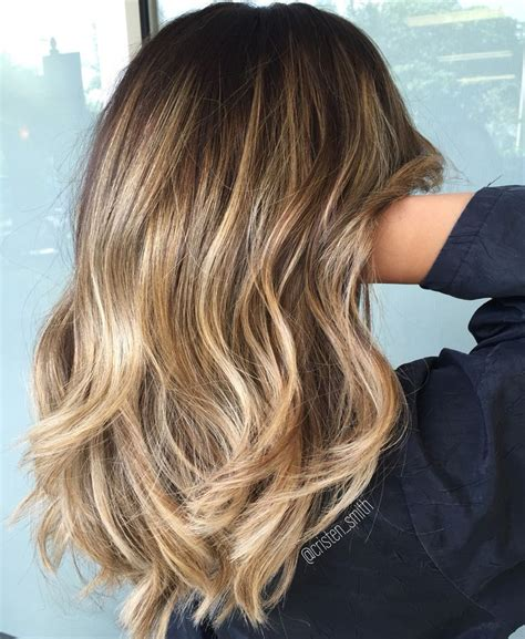 medium balyage hairstyles 25 best shoulder length balayage ideas on pinterest