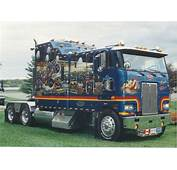 Truckers Images Cabover Petes Wallpaper And Background