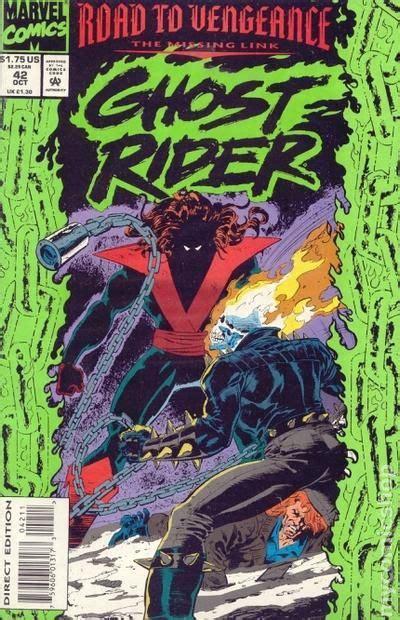 ghost rider 1990 2nd series comic books