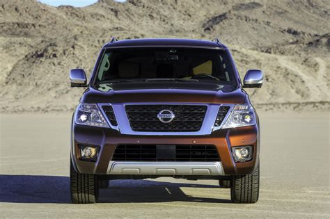 nissan patrol 2017 2017 nissan armada shares body on frame chassis with the