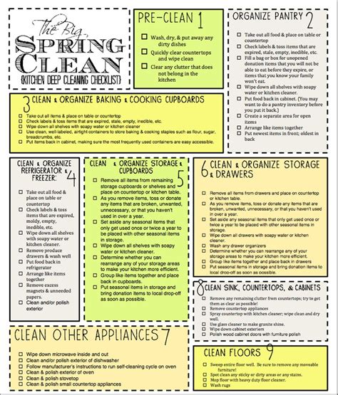 deep clean house 25 best ideas about deep cleaning checklist on pinterest
