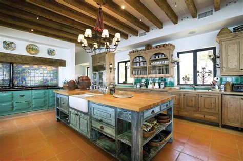 the uprising popularity of mexican kitchen design